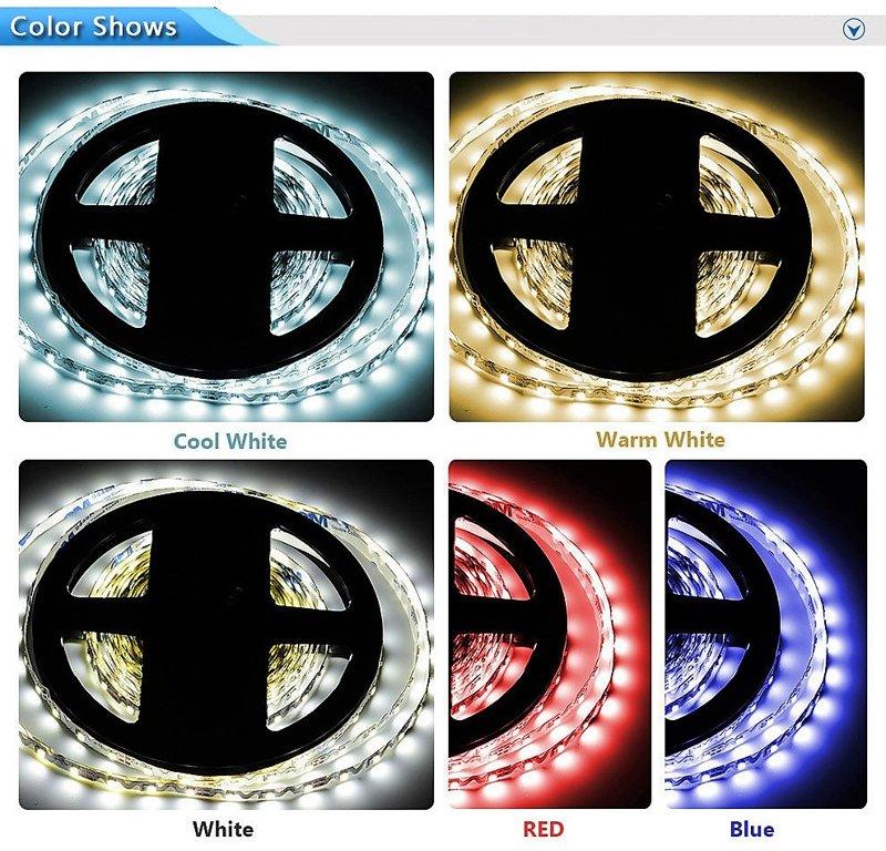 LED pásek SMD 2835 72led/m  360°