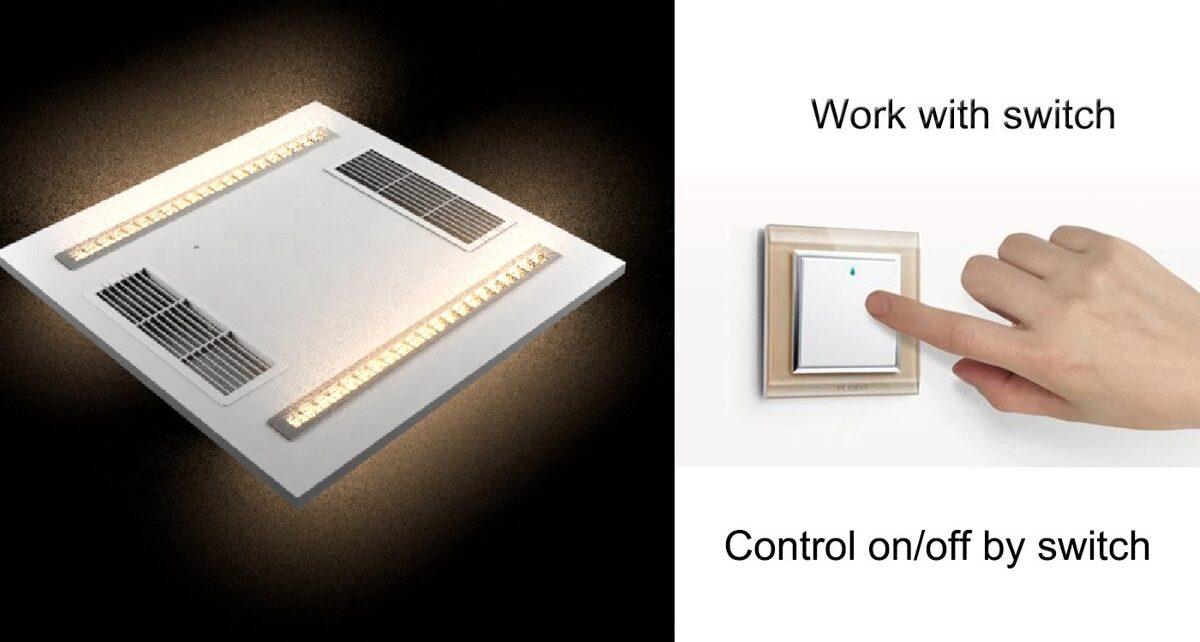 Germicidní LED UVC panel  AIR-FLOW